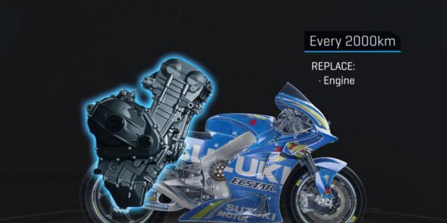 Phu Tung tren chiec xe MotoGP phai thay la bao nhieu km - 8