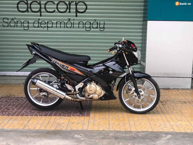 Raider 150 do dan chan voi option do choi chat lu dep khong tuong - 3