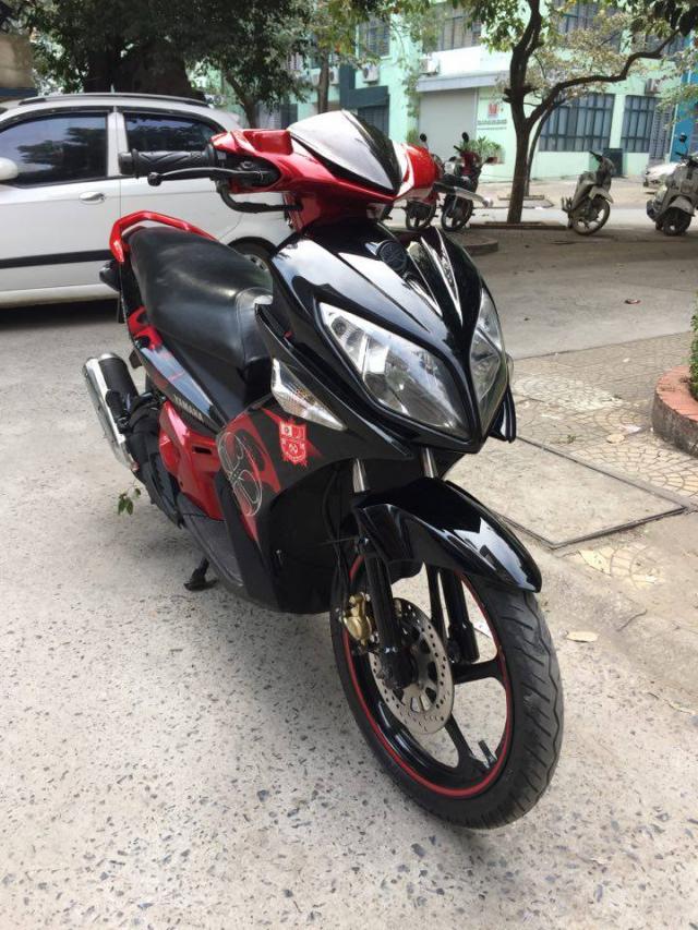 Rao ban xe Yamaha Nouvolx 135 Limited do den rat moi may chay cuc phe - 2