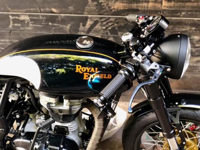 Royal Enfield Continental GT do Cafe Racer doc dao danh cho tin do ua thich su moi la - 5