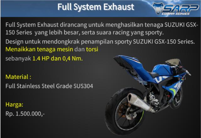 Suzuki GSX R150 voi option do choi chinh hang SARP tai thi truong Indo - 2