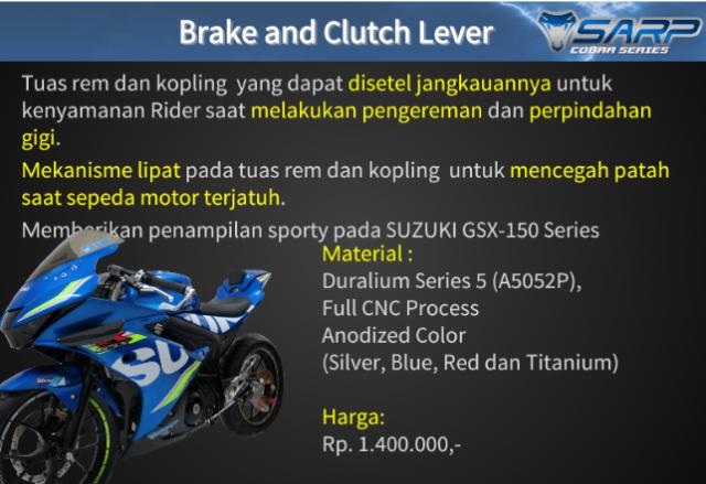 Suzuki GSX R150 voi option do choi chinh hang SARP tai thi truong Indo - 4