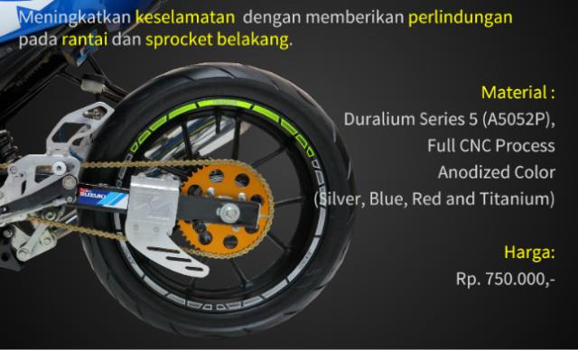 Suzuki GSX R150 voi option do choi chinh hang SARP tai thi truong Indo - 7