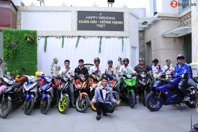 Team Exciter Kien Vang cuop dau voi doi hinh hoanh trang tai Sai Gon - 15