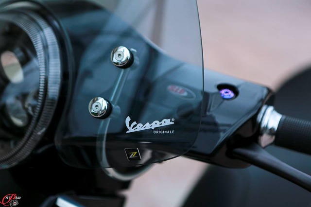 Vespa GTS Super trong ban do thanh lich chat den tung chi tiet nho - 3