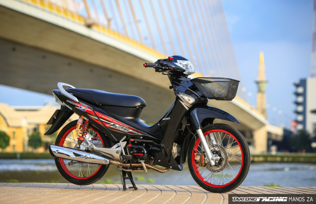 Wave 125 do option do choi dep bat tu theo thoi gian cua biker nuoc ban - 3