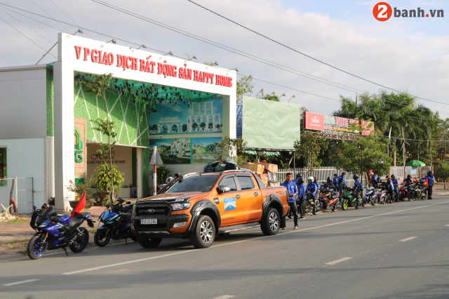 Yamaha NVX TPHCM NHC voi Caravan Hanh trinh Ket noi dam me tiep suc den truong lan I - 10