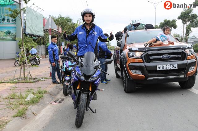 Yamaha NVX TPHCM NHC voi Caravan Hanh trinh Ket noi dam me tiep suc den truong lan I - 23
