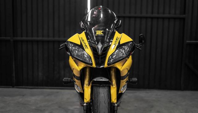 Yamaha R6 do hop hon nguoi ham mo voi phong cach Yellow Sporty tren dat Viet - 3