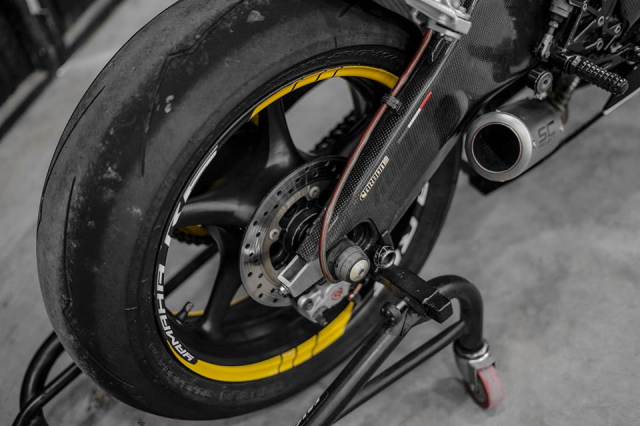 Yamaha R6 do hop hon nguoi ham mo voi phong cach Yellow Sporty tren dat Viet - 11