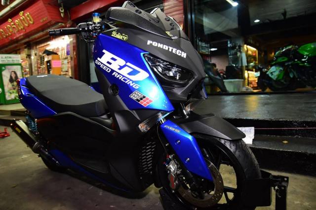 Yamaha XMax300 do nang cap tuyet doi tu BD Speed Racing - 3