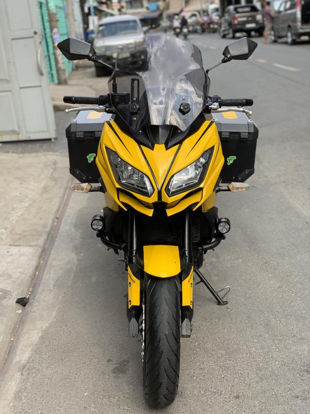 _ Can Ban kawasaki Versys 650cc ABS chia khoa hiss DKLD 2016 mau xam Den odo 7000km HQCN - 2