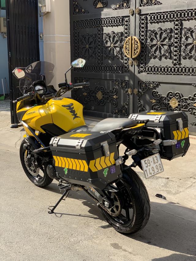 _ Can Ban kawasaki Versys 650cc ABS chia khoa hiss DKLD 2016 mau xam Den odo 7000km HQCN - 4