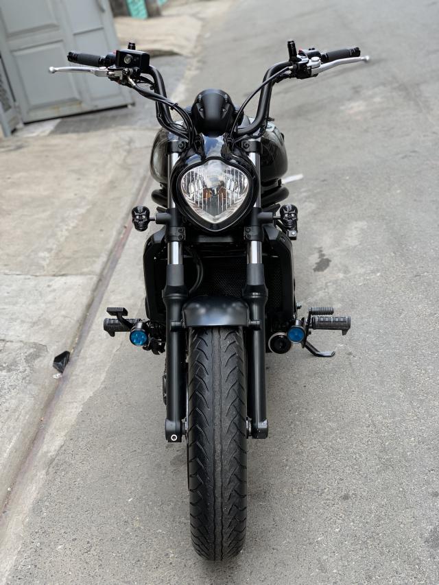 _ Can Ban kawasaki Vulcan S 650cc ABS chia khoa hiss DKLD T82016 mau xam Den odo 5000km HQCN - 6