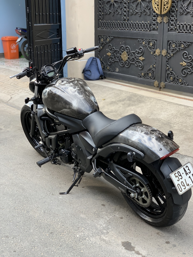 _ Can Ban kawasaki Vulcan S 650cc ABS chia khoa hiss DKLD T82016 mau xam Den odo 5000km HQCN - 8