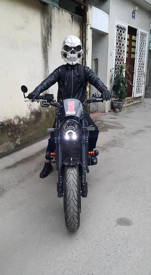 Ban Mu Bao Hiem Dau Lau Helmet Skull made in Viet Nam - 4