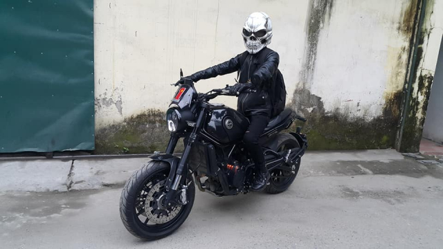 Ban Mu Bao Hiem Dau Lau Helmet Skull made in Viet Nam - 5