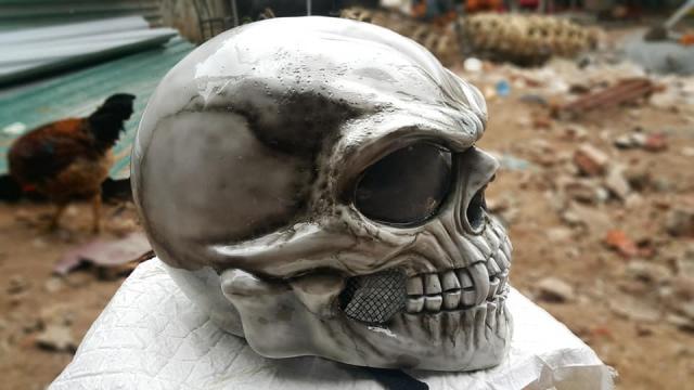 Ban Mu Bao Hiem Dau Lau Helmet Skull made in Viet Nam - 6