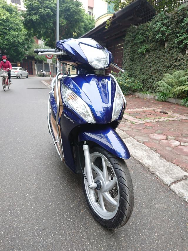 Can ban Honda Vision fi 2014 xanh tim con rat moi chinh chu nha su dung bien Hn - 2