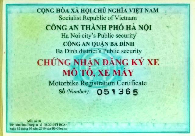 Can ban xe chinh chu Yamaha 1997 Virago 125 theo dang ky - 3