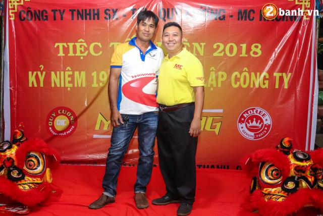 Cong ty TNHH SX TM Quy Cuong MC Racing to chuc buoi tiec tat nien 2018 - 13