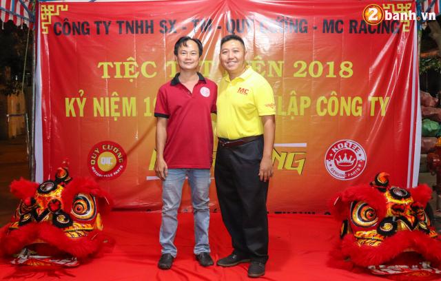 Cong ty TNHH SX TM Quy Cuong MC Racing to chuc buoi tiec tat nien 2018 - 14