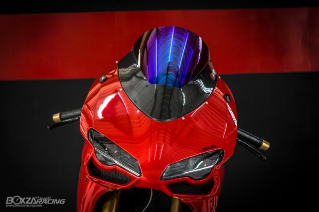 Ducati 848 EVO Huyen thoai Sport lam say dam bao nguoi trong dien mao phuc sinh - 2