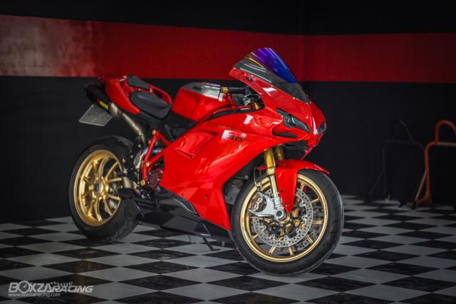 Ducati 848 EVO Huyen thoai Sport lam say dam bao nguoi trong dien mao phuc sinh - 24