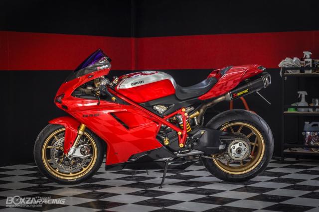 Ducati 848 EVO Huyen thoai Sport lam say dam bao nguoi trong dien mao phuc sinh - 32