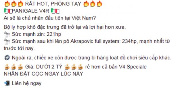 Ducati Panigale V4R sap ban chinh hang tai VN voi gia cuc soc - 3