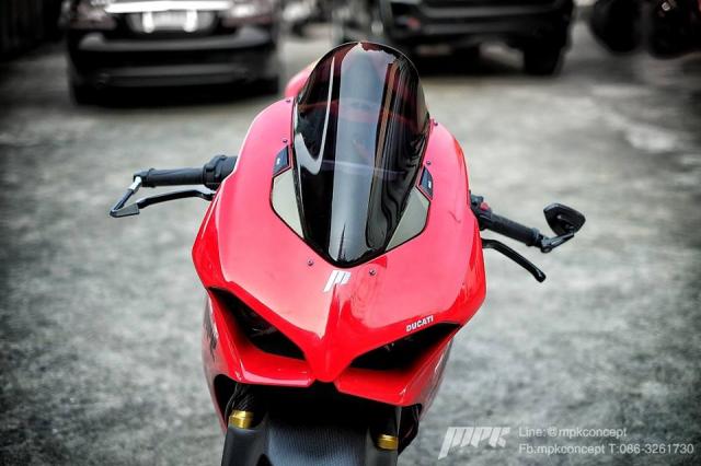 Ducati V4S Panigale do sieu tuong voi dan trang bi khung khiep - 3