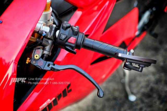 Ducati V4S Panigale do sieu tuong voi dan trang bi khung khiep - 5