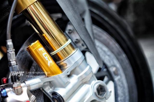 Ducati V4S Panigale do sieu tuong voi dan trang bi khung khiep - 9