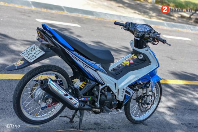 Exciter 2010 do mang doi chan yeu mem doc buoc tren dat Viet - 6
