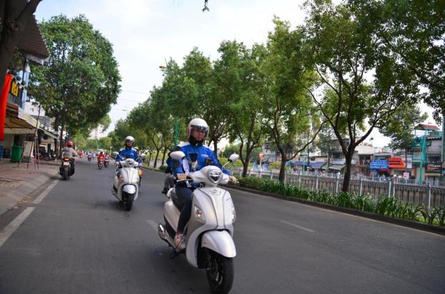 Grande Hybrid xac lap 2 ky luc Viet Nam cho Yamaha Motor - 5
