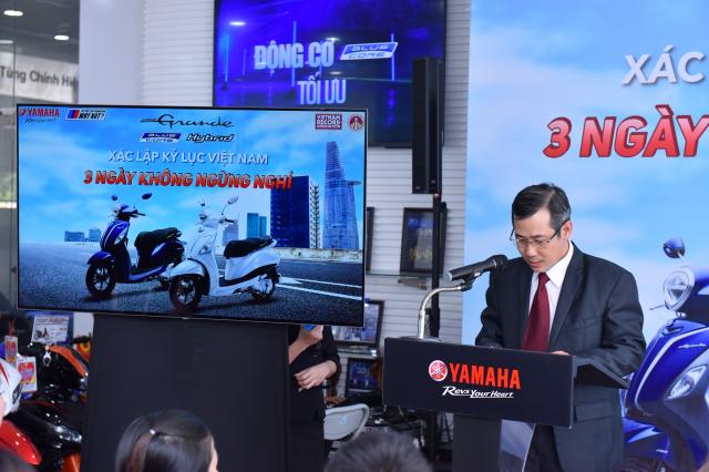 Grande Hybrid xac lap 2 ky luc Viet Nam cho Yamaha Motor - 2