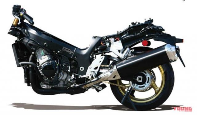 Hayabusa du kien duoc hoi sinh canh tranh voi doi thu Kawasaki Ninja H2 - 3