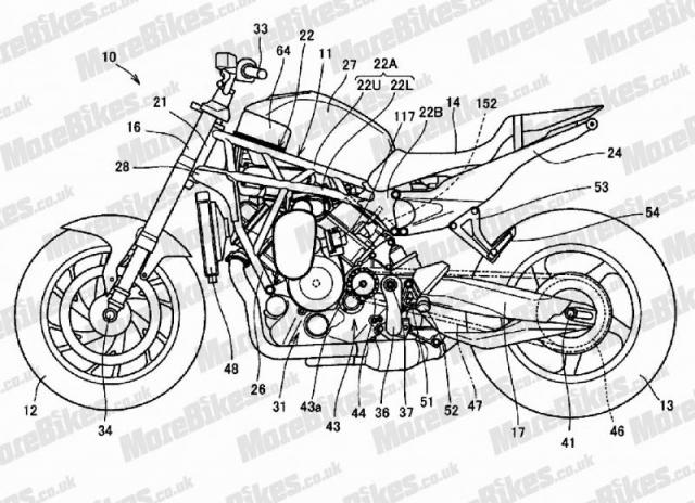 Honda dang chuan bi thiet ke chiec xe VTwin sieu nap hoan toan moi - 3