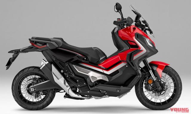Honda ra mat XADV 2019 voi nhieu lua chon mau cuc hot - 5