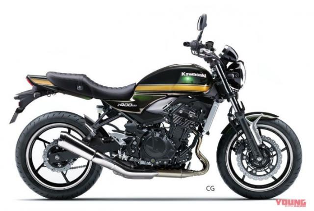 Kawasaki chuan bi tham nhap thi truong Neo Classic voi 4 ten tuoi Z650RS Z400RS Z250RS H1 - 4