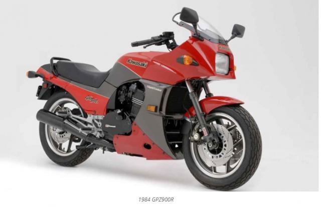 Kawasaki GPZ900R doi thu truc tiep voi Suzuki Katana moi sap sua hoi sinh - 5