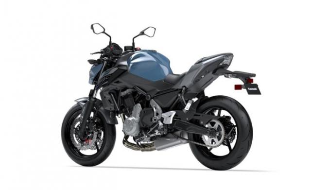 Kawasaki Z650 2019 bo sung them mau moi them phan ca tinh the thao - 3