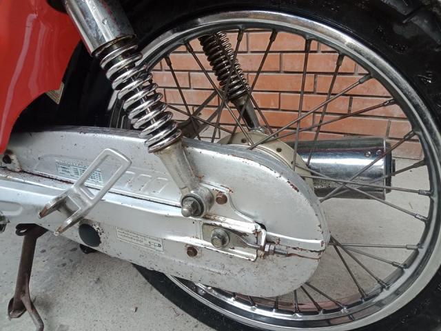 Minh ban chiec xe wave thai 110cc mau do phanh dia xe nguyen ban - 9