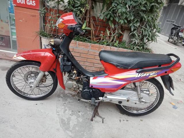 Minh ban chiec xe wave thai 110cc mau do phanh dia xe nguyen ban - 8