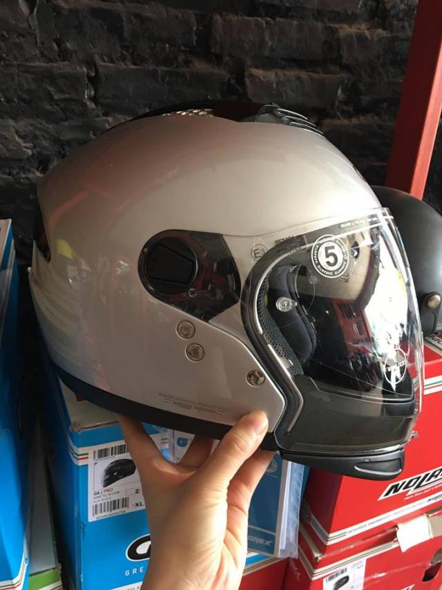 MTstore Mu bao hiem motor NOLAN tu ITALIA Xu huong moi cho cac biker Viet Nam - 7