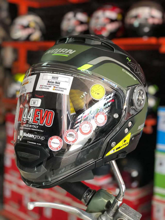 MTstore Mu bao hiem motor NOLAN tu ITALIA Xu huong moi cho cac biker Viet Nam - 8