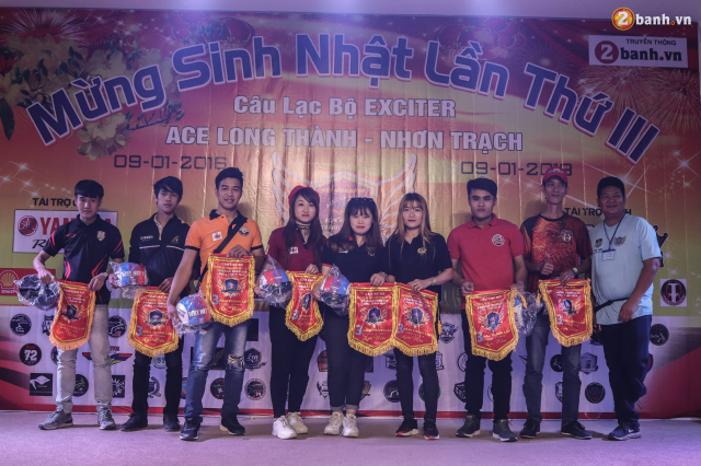 Nhin lai chang duong 3 nam hoat dong cua Club Exciter ACE Long Thanh Nhon Trach - 26