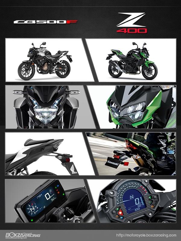 So sanh Honda CB500F VS Kawasaki Z400 2019 - 19
