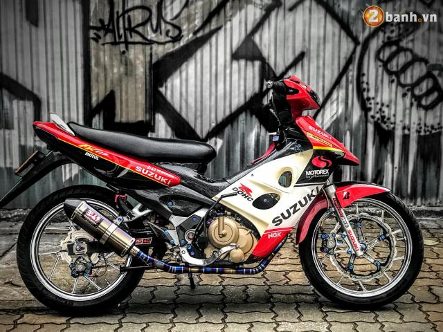 Suzuki FX 125 do man hoi sinh manh liet voi niem khao khat 1 thoi cua biker Viet - 3