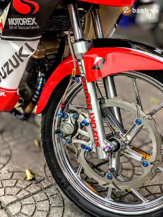 Suzuki FX 125 do man hoi sinh manh liet voi niem khao khat 1 thoi cua biker Viet - 5
